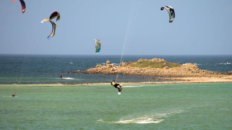 Kitesurf à Landéda L'Aber Wrac'h