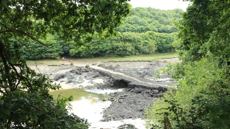 Pont du diable à Plouguerneau