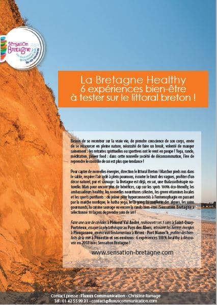 La Bretagne Healthy 6 expériences bien-être à tester sur le littoral breton !