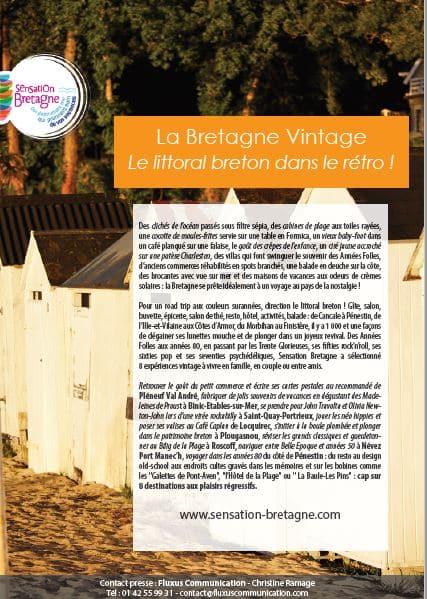 La Bretagne Vintage Le littoral breton dans le rétro !