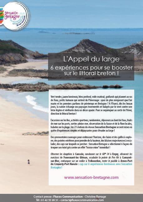 L'appel du large : 6 expériences pour se booster sur le littoral breton !
