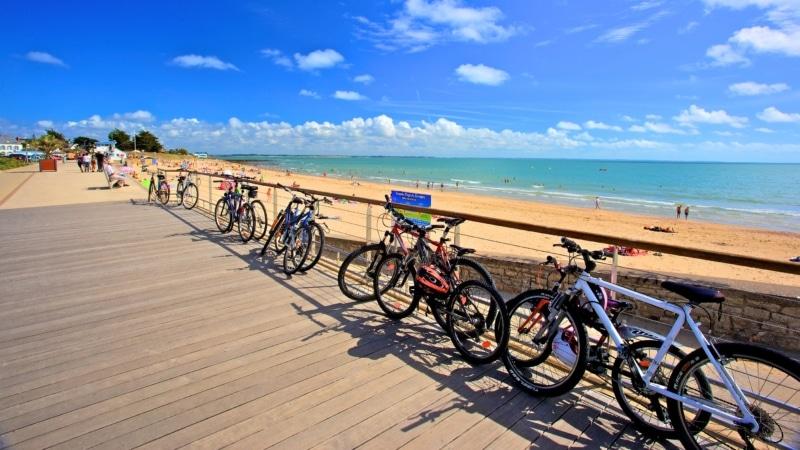 La grande plage de Damgan