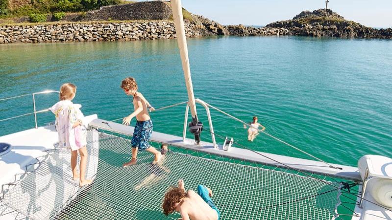 Croisière à bord d'un catamaran à Binic Etables sur Mer