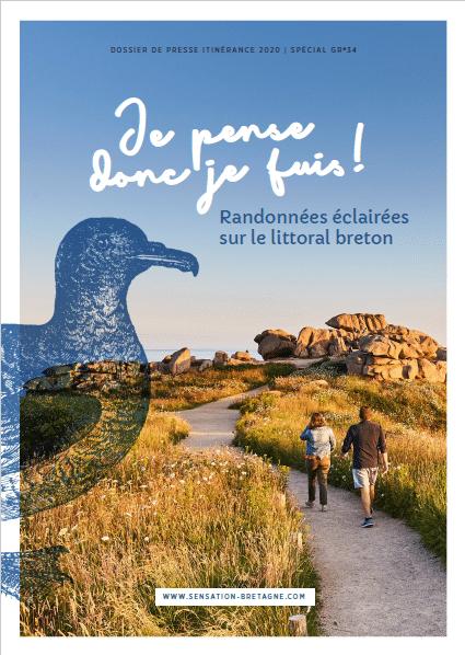 Randonnées éclairées sur le littoral breton : Je pense donc je fuis