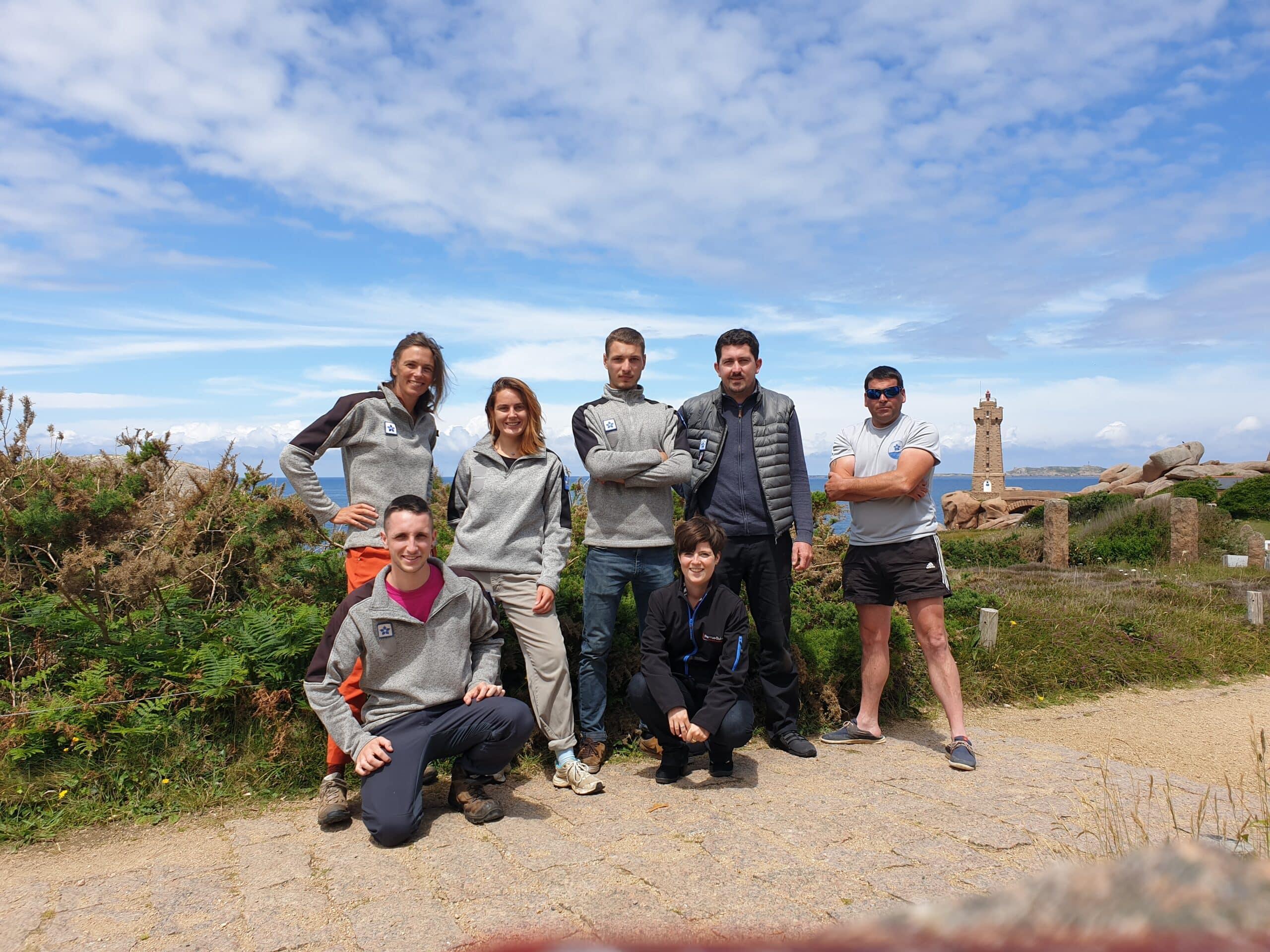Rencontre avec une garde animatrice de la Maison du Littoral à Perros-Guirec