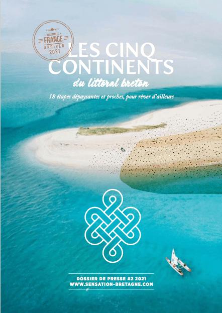 Les 5 continents du littoral breton