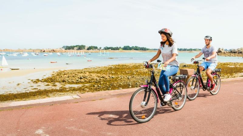 Balade sur le front de mer en Vélek'Tro