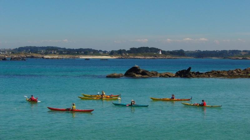 kayak à Landéda L'Aber Wrac'h