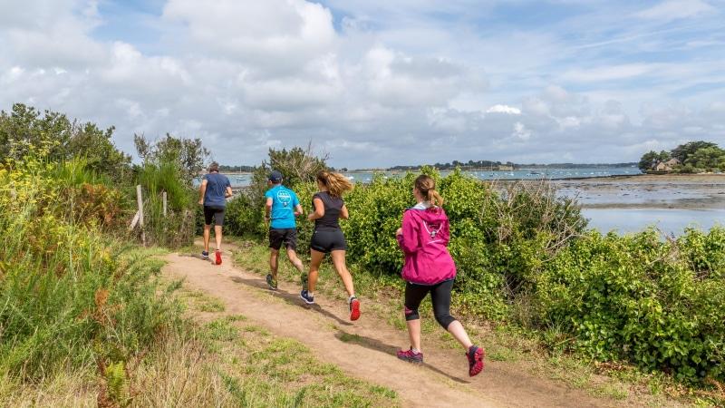 Trail-running sur le Sentier des Douaniers