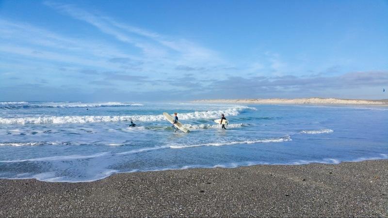 © E. Cléret - Session surf à La Torche