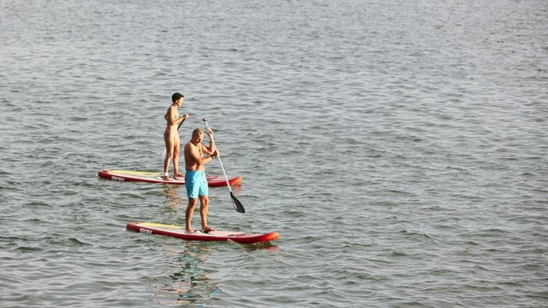 Paddle à Carnac-Plage