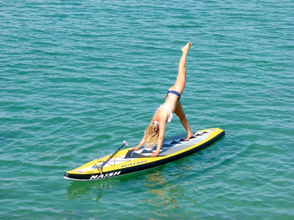 Sarah HEBERT – Stand Up Paddle- Beach Yoga-Sup