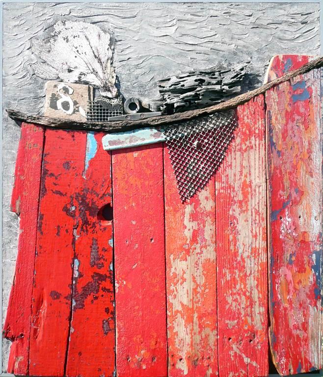 Exposition Aberaku (céramiste) et Patrick Nicol (Bois de bateaux) au Moulin de Pen Castel
