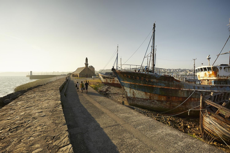 Cimetière de bateaux de Camaret Sur Mer