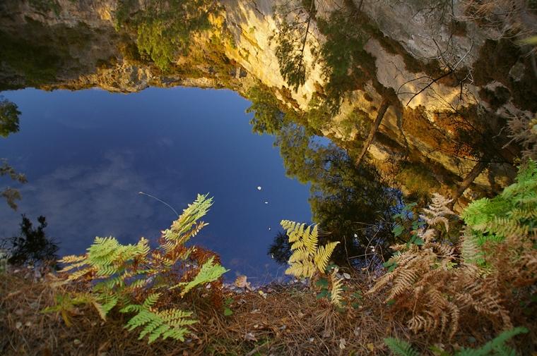 Anciennes carrières littorales – Lacs bleus