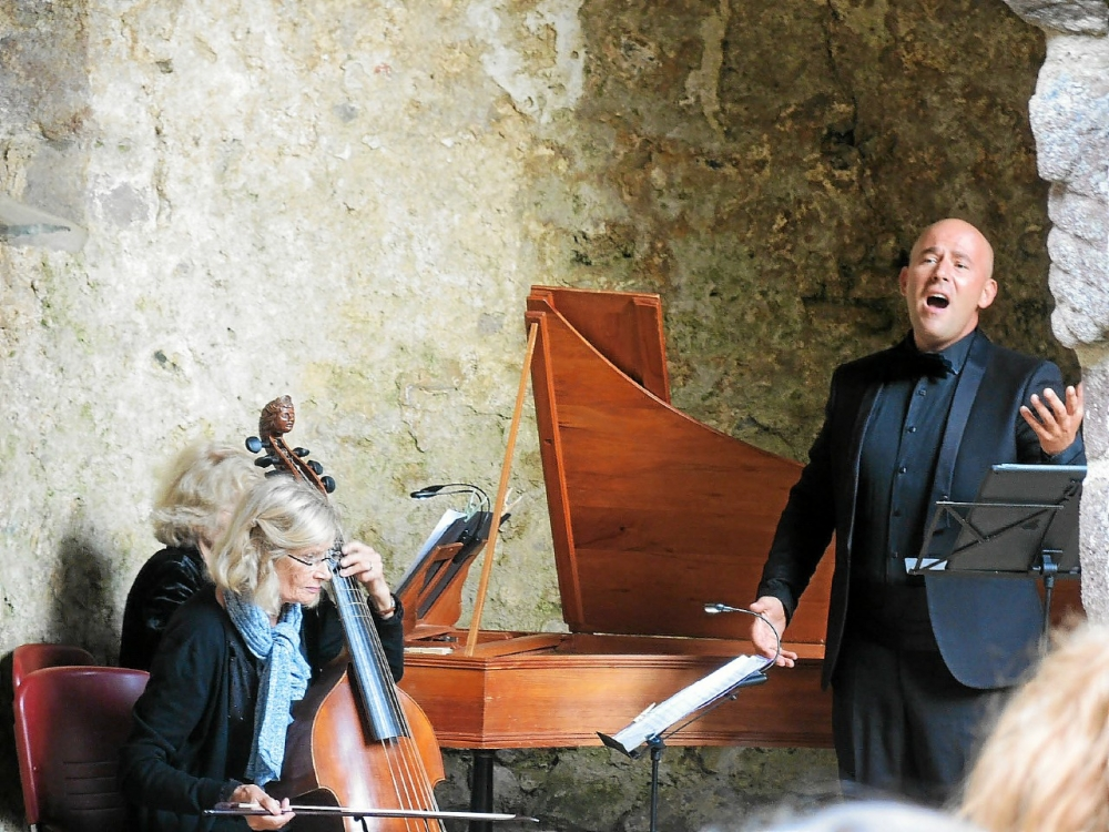 Concert de Mathieu Salama en hommage aux castrats – Contre ténor