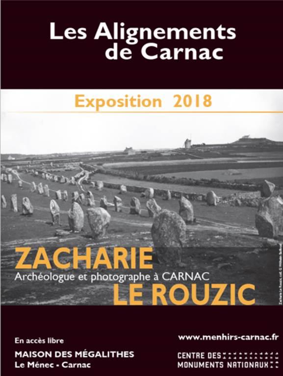 Exposition: Zacharie Le Rouzic, archéologue et photographe à Carnac