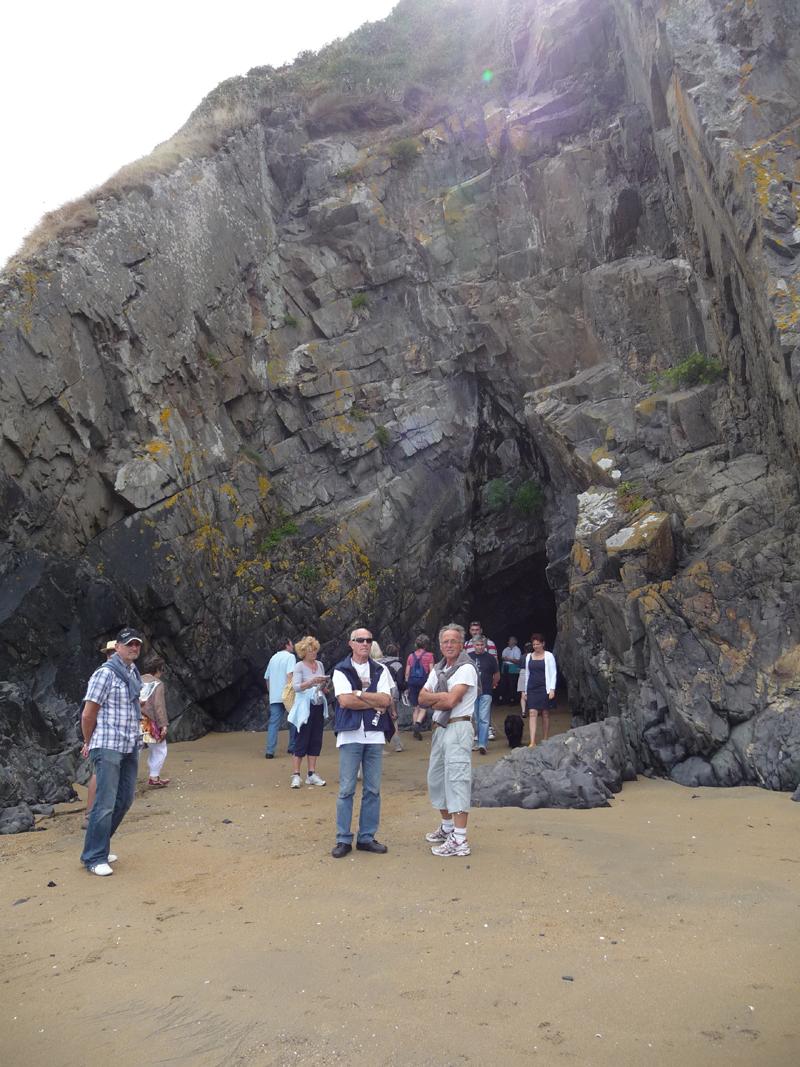 Les grottes marines d'Etables-sur-Mer