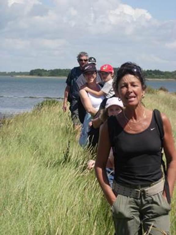 Randonnée à l'Ile d'Arz avec Gwen