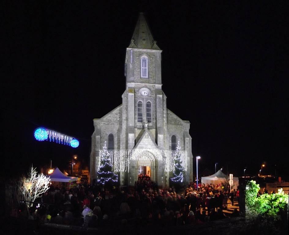 Illuminations de Noël à Pénestin