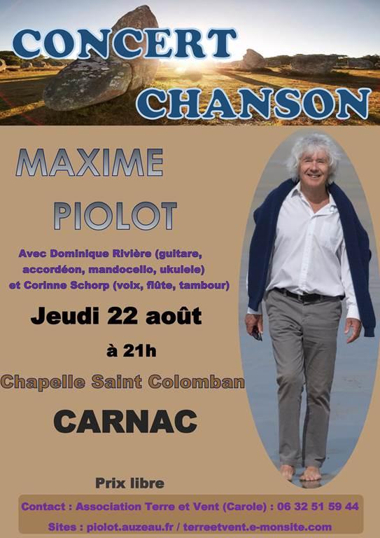 Maxime Piolot en concert