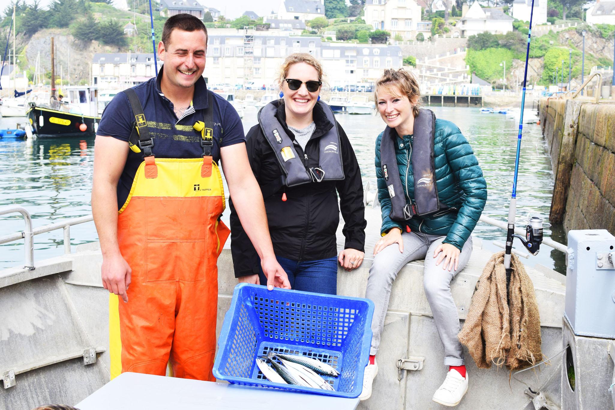 Sortie initiation découverte de la pratique de la pêche en mer