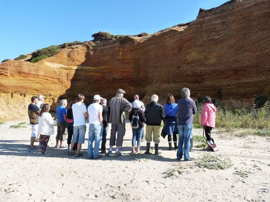 Visite géologique de la Mine d'Or